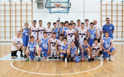 Under 13 Sistel Olimpia Basket, pronta per il Torneo del Canestrello