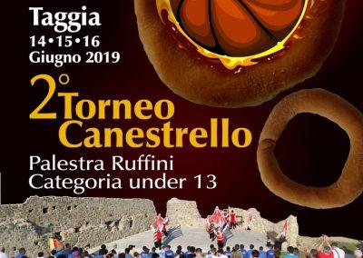 Locandina Torneo canestrello A4_2019